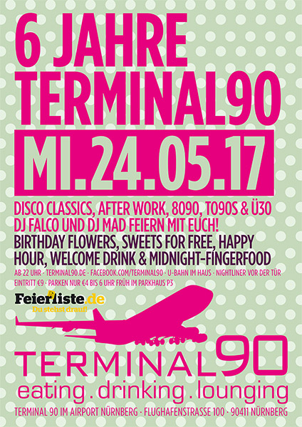 Single Party Nürnberg Terminal90